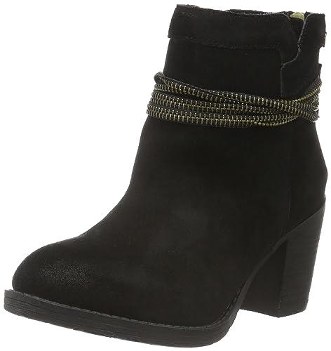 65204, Zapatillas de Estar por Casa para Mujer, Negro (Black), 40 EU Xti
