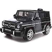 Advwin XL Big 12V Kids Ride On Car, Mercedes Benz G63 AMG License Rechargeable Toy Cars Remote Control Motor, Music, MP3…