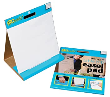 Dry Erase Table Top Easel Pad, 16 Inches By 15 Inches