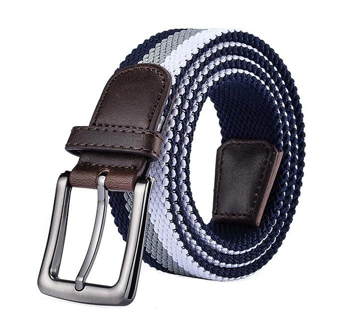 miglior servizio f4dcb 52438 Cinture Fibbia per uomo giovane Cinturini elasticizzati ...