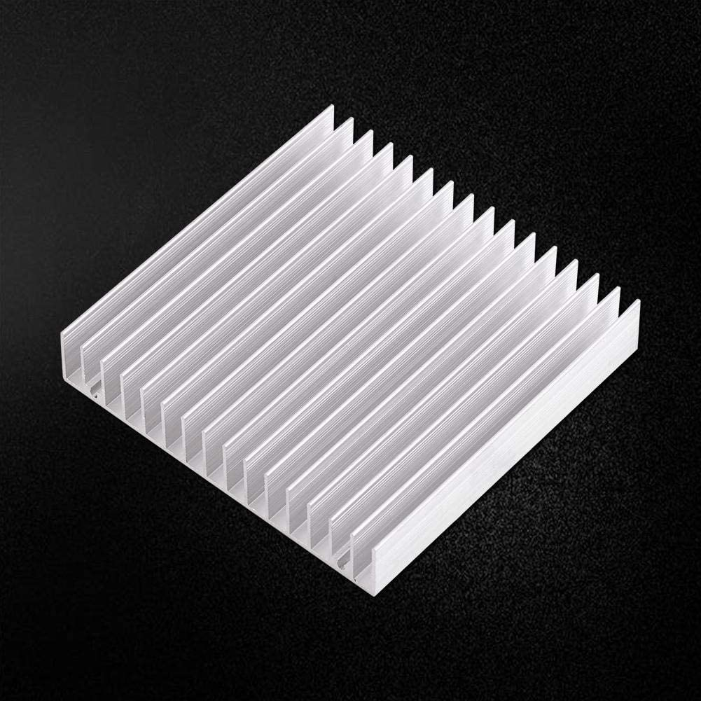 10010018MM Light Weight Aluminium Good Thermal Conductivity Heat Sink Cooling Fin for Computer//Power IC//Power Electric Device//LED Light Devices SoarUp Heat Sink