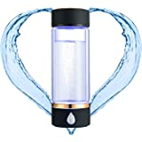 N.P Hydrogen Water Bottle Generator with PEM and SPE Technology,Up to 1500PPB,Portable Hydrogen Water Maker,Hydrogen…