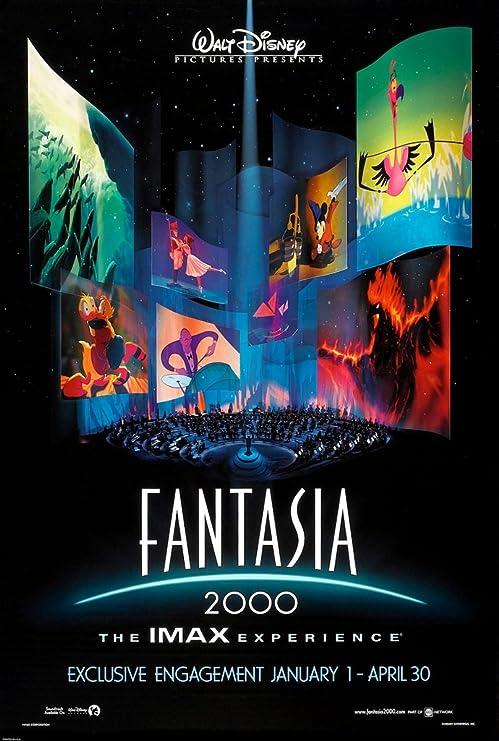 Amazon Com Fantasia 2000 Movie Poster 2 Sided Original 27x40 Disney Posters Prints