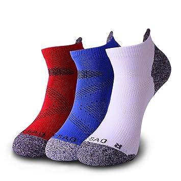Calcetines deportivos hombre mujer Calcetin de deportivo Low Cut, Cortos, Transpirable, para Hombres