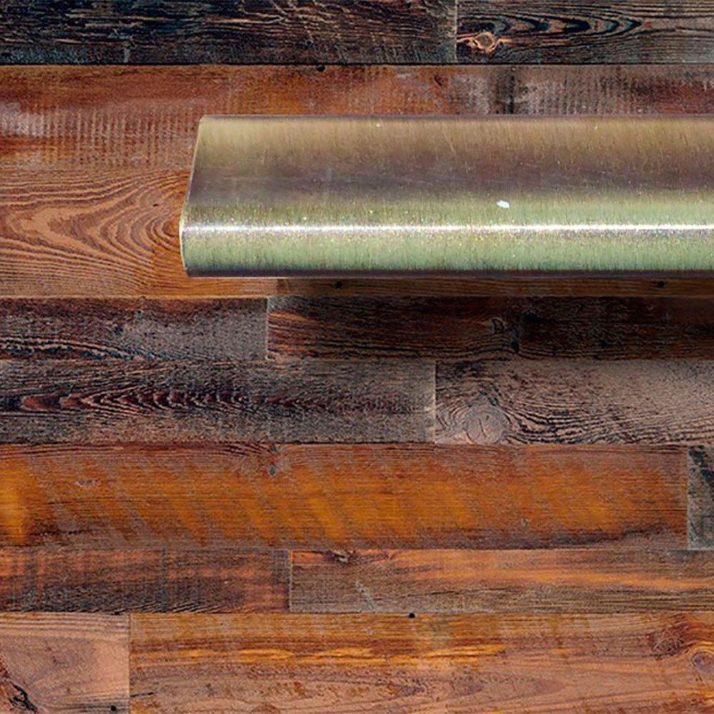 Randalco 24'' Maine Modern Bathroom Vanity Cabinet Set | 24 x 24 x 18 Inch Vanity Cabinet + Ceramic Top + Mirror | Cognac Wood Looking Finish by Randalco (Image #5)