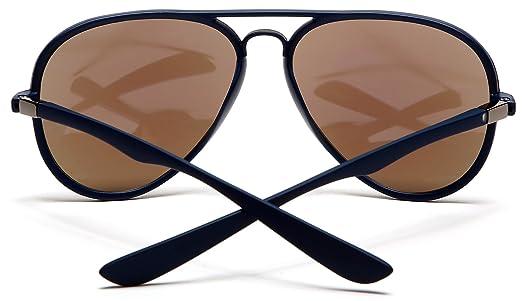 Aviator Lunettes de Soleil Classique Métal Cadre Sunglasses avec UV400 Protection pour Homme Femme CSZpR