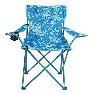Trail silla de camping al aire libre plegable floral, jardín ...