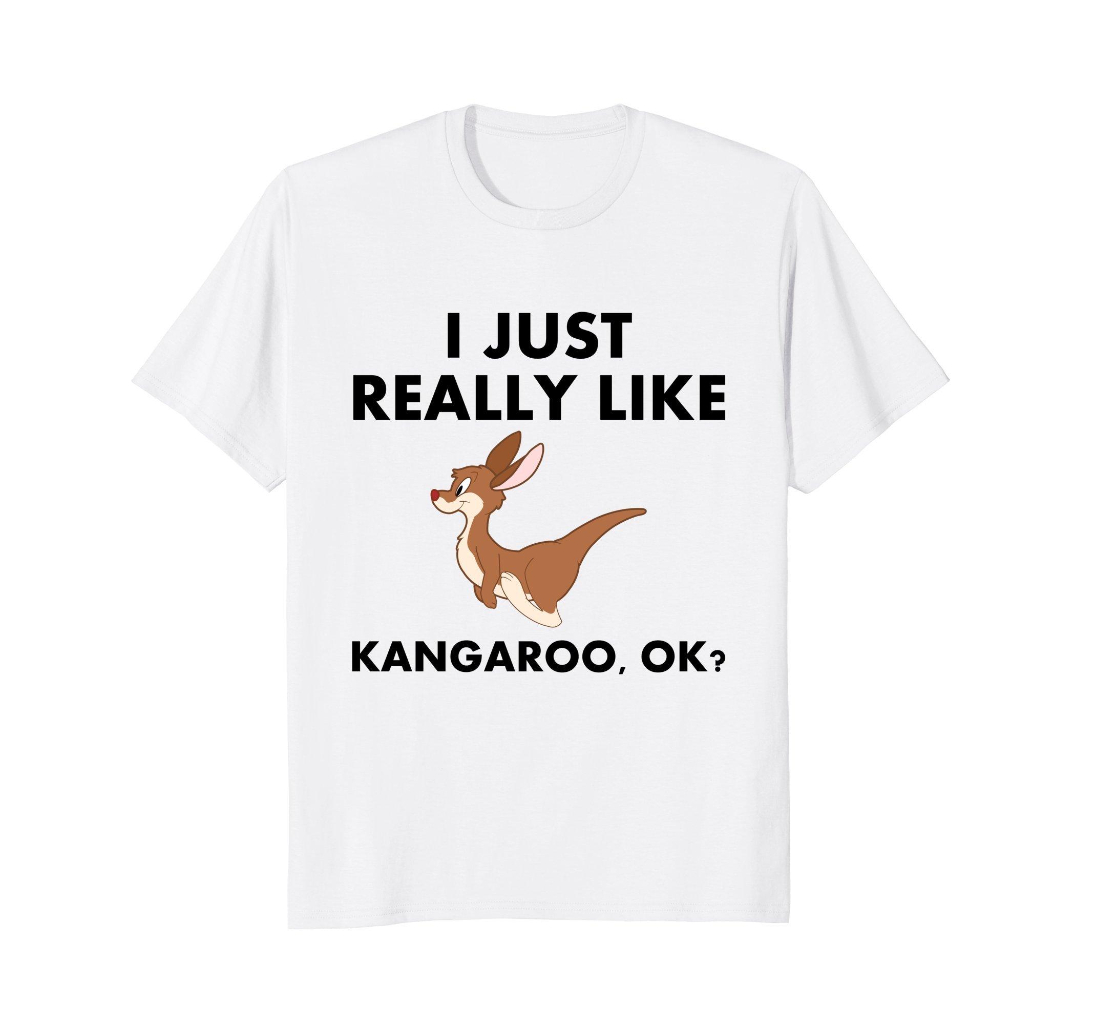 Funny Kangaroo T-Shirt | Cute Kangaroos Australia Travel Tee