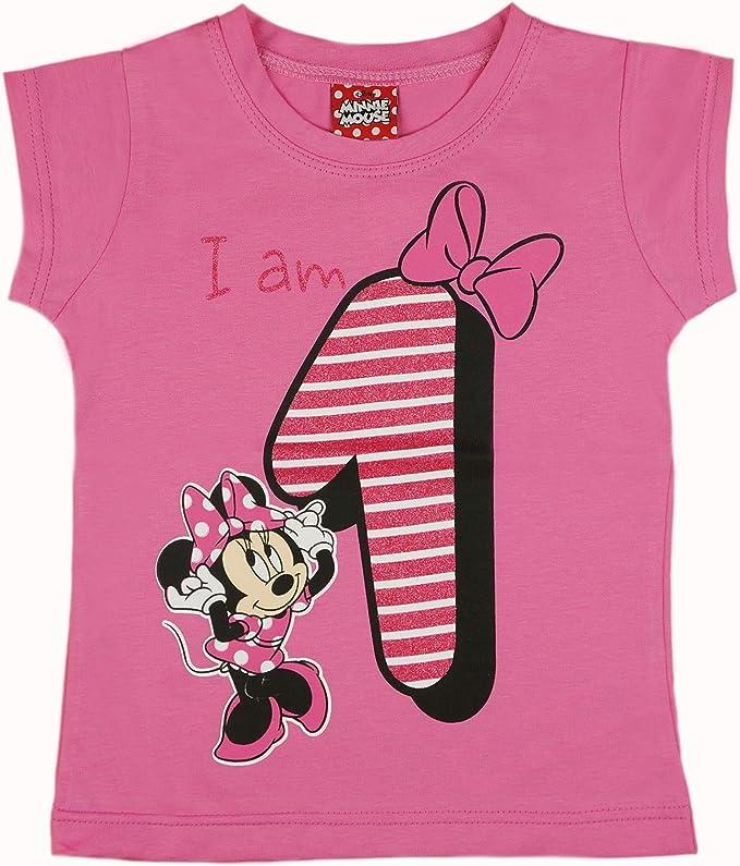 cooe-fun-t-shirts Minnie Mouse Kleid hellblau oder rosa mit goldglitter 12 18 24 36 Monate