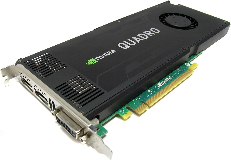 Amazon Com Nvidia Quadro K4000 3gb Gddr5 Pcie 2 0 X16 Dual Displayport Dvi I Graphics Card Dell Cn3gx Computers Accessories