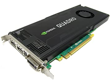 Amazon.com: Tarjeta gráfica Nvidia Quadro K4000 3 GB GDDR5 ...