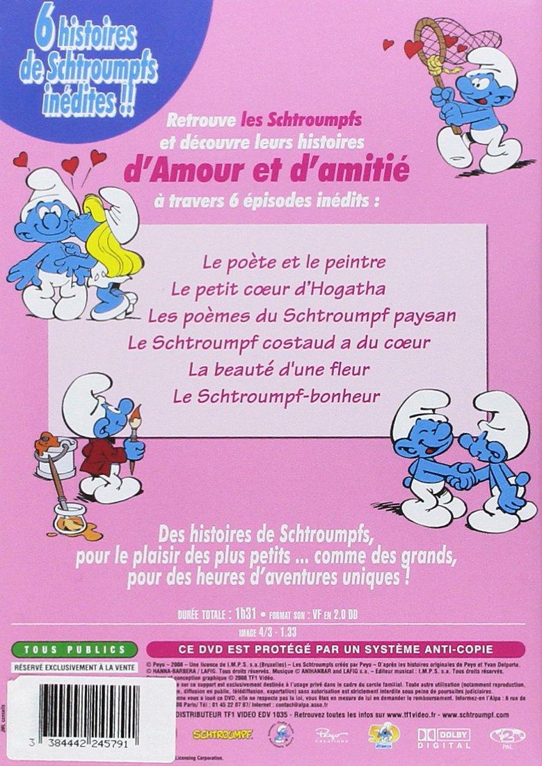 Les Schtroumpfs Bébé Schtroumpf Amour Et Amitié Francia