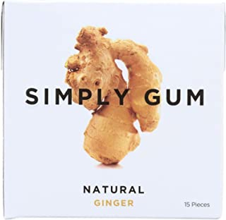 product image for Simply Gum All Natural Gum - Ginger - Pack of 12 - 15 Count