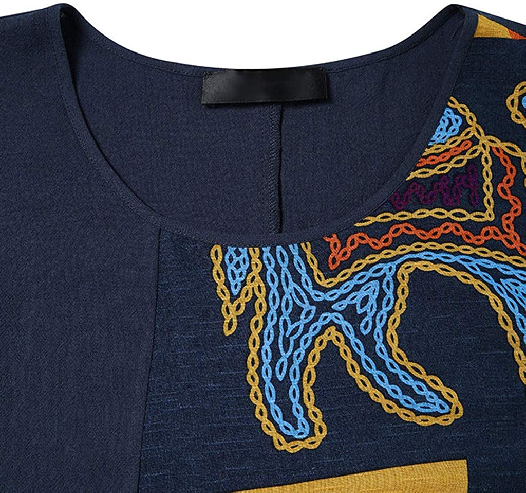 LISTHA Vintage Maxi Dress Plus Size Women Two-Piece Tops Blosue Boho Long Dress