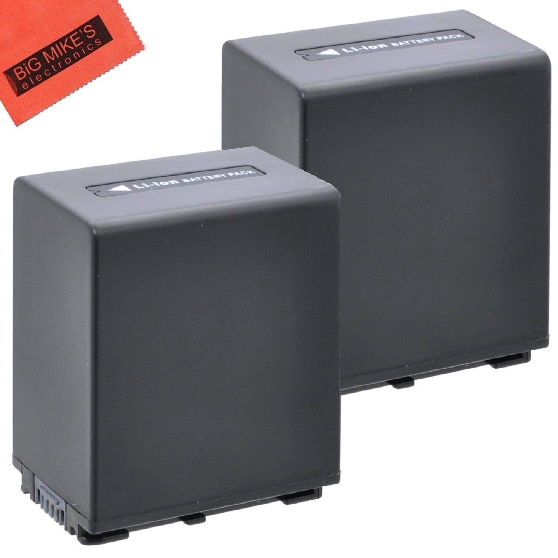 BM Premium 2-Pack of NP-FV100 Batteries for Sony FDR-AX53 HDR-CX455/B HDR-CX675/B HDR-PJ260V HDR-PJ380 HDR-PJ430V HDR-PJ580V HDR-PJ650V HDR-PJ670/B HDR-PJ710V HDR-PJ760V HDR-PV790V HDR-TD30V HDR-XR260V FDR-AX33/B FDR-AX100 Camcorder by BM Premium