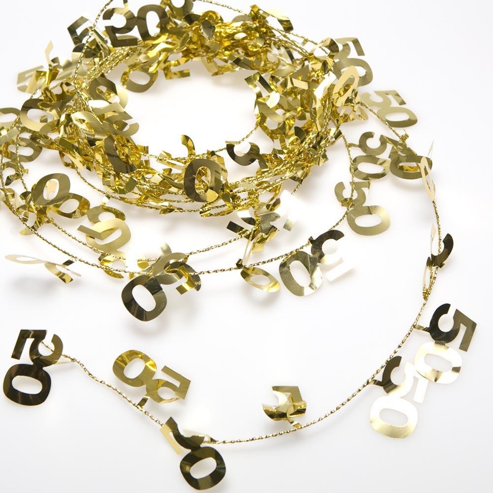 50 Gold Garland