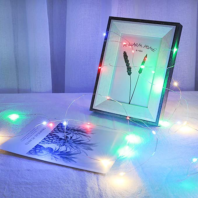 Amazon.com: Luces LED con clip para colgar fotos, fiestas ...