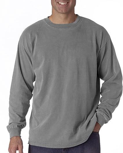 31a84338c00 Amazon.com  Comfort Colors Men's Chouinard Long Sleeve T-Shirt ...