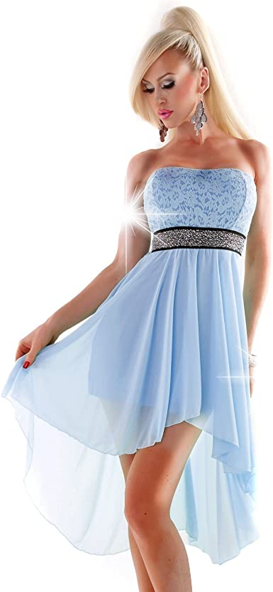 amazone robes de soiree courte strass