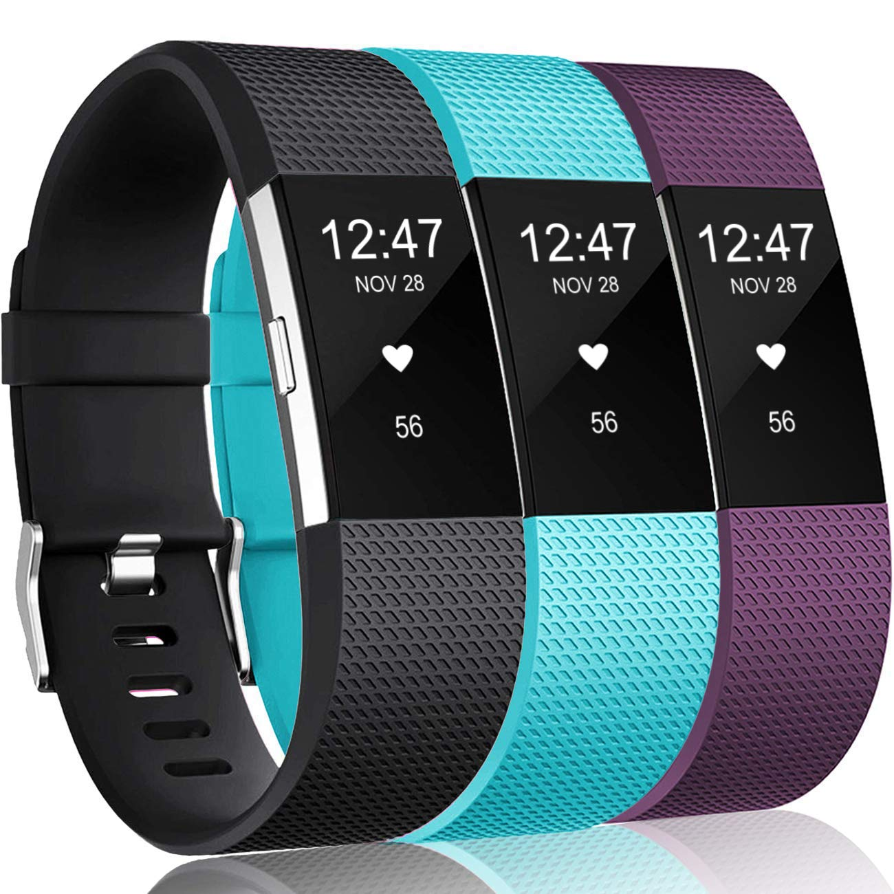 3 Mallas De Reloj Fitbit Charge 2 Hr