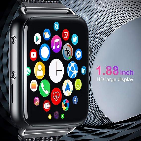 HWTP LEM10 4G Smart Watch Android 7.1 1.88 Pulgadas 360 * 320 ...