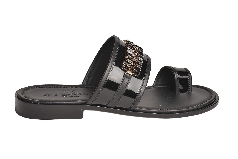 8ec1dff94b08ad Giampieronicola italian mens black leather sandals swarovski cristal sandals  jpg 1500x1001 Mens dress leather sandals
