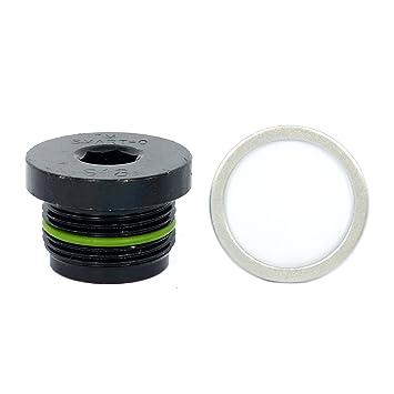 smart-o S13 tapón de desagüe de M26 X 1.5 mm - Tapón de protección con tecnología sellado TradeShop, breveté anti-fuite y mecanismo antivibración: ...