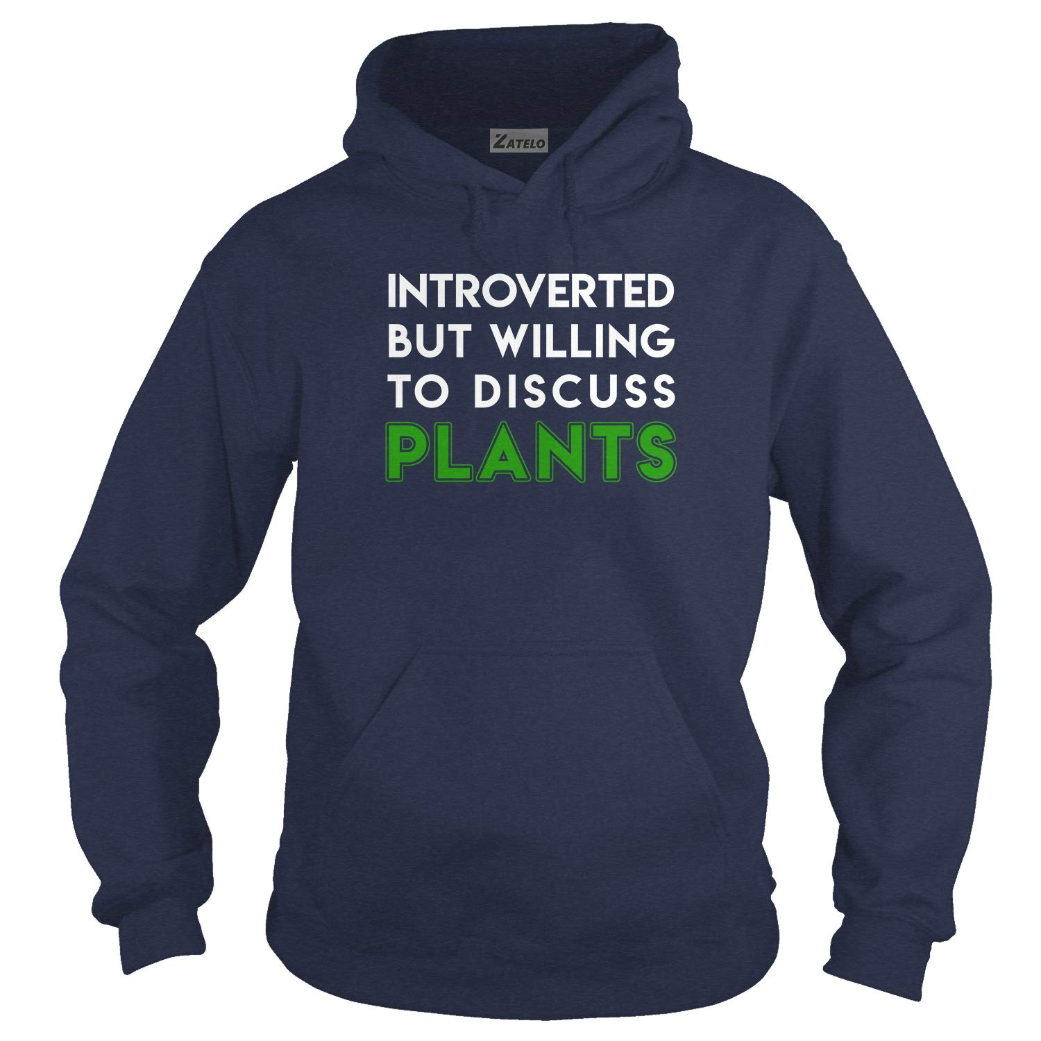 Zatelo Introverted but wiling to Discuss Plants T-Shirt
