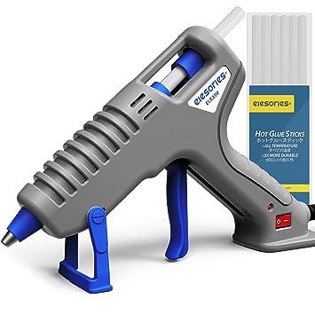 Heissklebepistole mit kabel Hei/ßklebepistole Klebepistole 60//100w Zweileistung mit 20 PCS Klebesticks 11 mm f/ür DIY Handwerk und schnelle Reparaturen