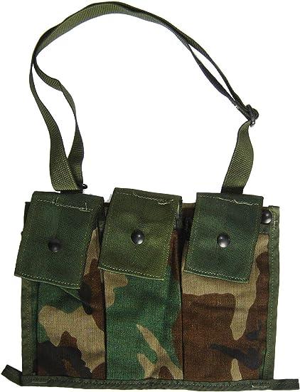 US ARMY* New in bag ! BANDOLEER MOLLE II ACU DIGITAL CAMO AMMUNITION POUCH USGI