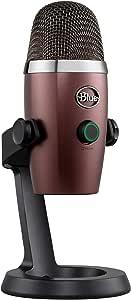 Blue Yeti Nano Premium USB Mic for Recording and Streaming - Red Onyx