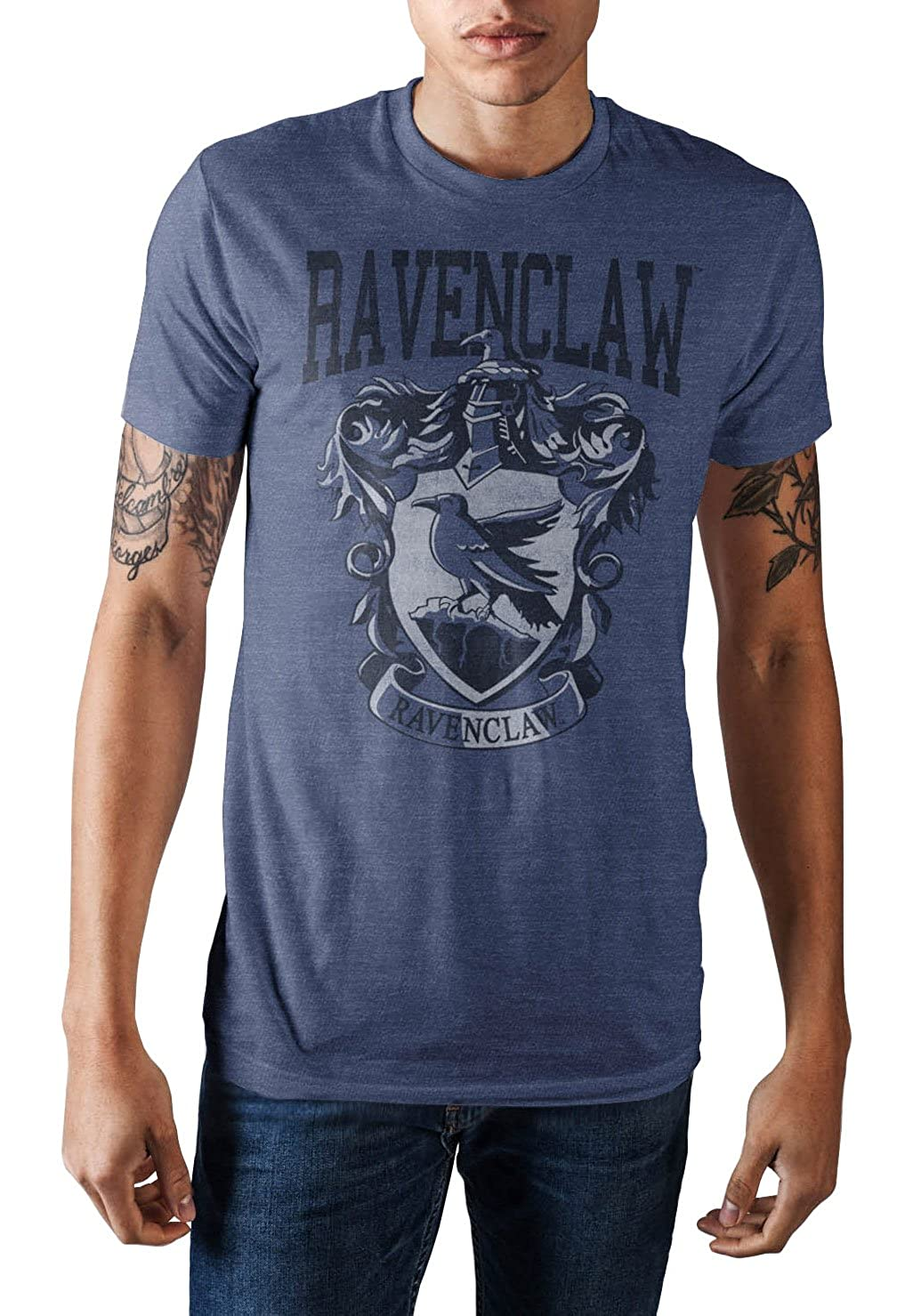 94cea96c9 54% Cotton 46% Polyester Officially Licensed Harry Potter Product by  Bioworld Listed in Adult Men's Sizes Hight Quality Front Graphics Featuring  the ...