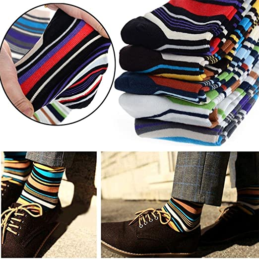 2cb188018fa Image Unavailable. Image not available for. Color  Boufanu Fashion Men s  Designer Striped Style ...