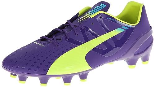 Puma EvoSpeed â??â??1,3 para superficies firmes Botines de fútbol: Amazon.es: Zapatos y complementos