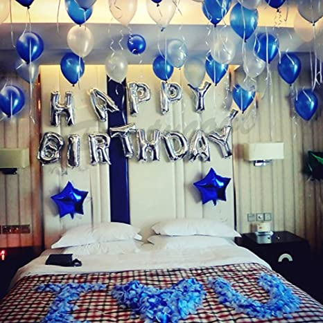 YHL Balloons 72pcs 9inches printed Happy birthday in assorted colors for Party Decorations Anniversary//Birthday//Baby Shower//Wedding etc Made of Strong Latex For Helium /& Air Use