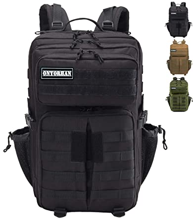 comprare on line cddf0 04dfb onyorhan 40L Zaino Militare Tattico Assault Pack Molle Tactical Backpack
