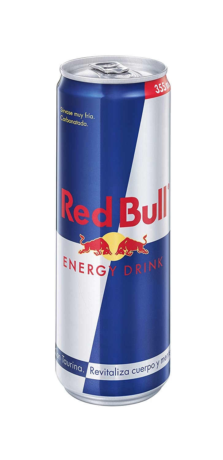 Red Bull - Bebida energético - Regular Lata 355 ml: Amazon.es ...