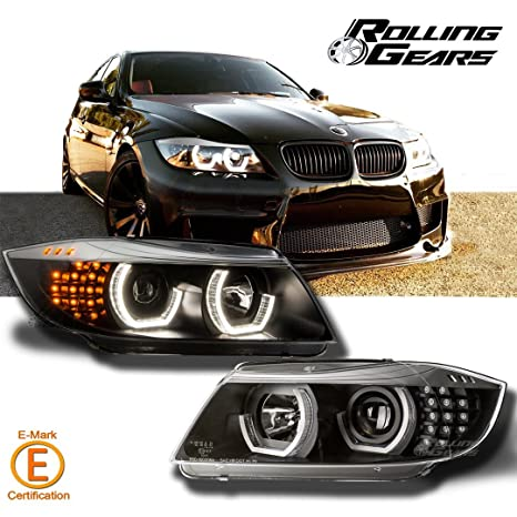 Headlight Front Lamp Fits Left BMW E91 E90 Sedan Wagon 2005-2008