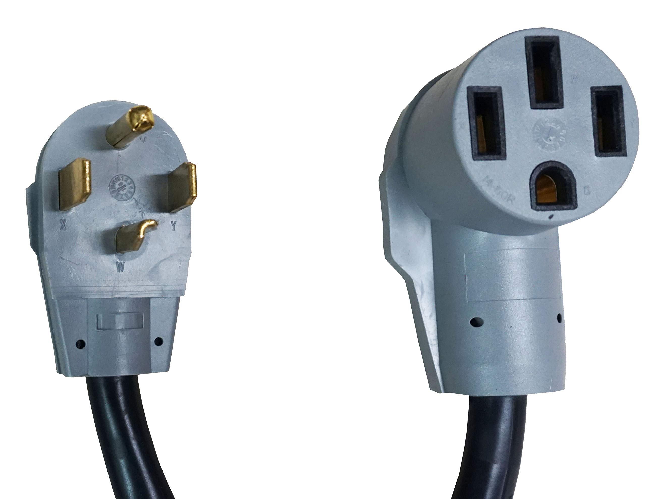 Gomadic Electric Vehicle NEMA 14-50 to NEMA 14-30P Outlet Adapter Cable - Perfect for Tesla and EV Cars