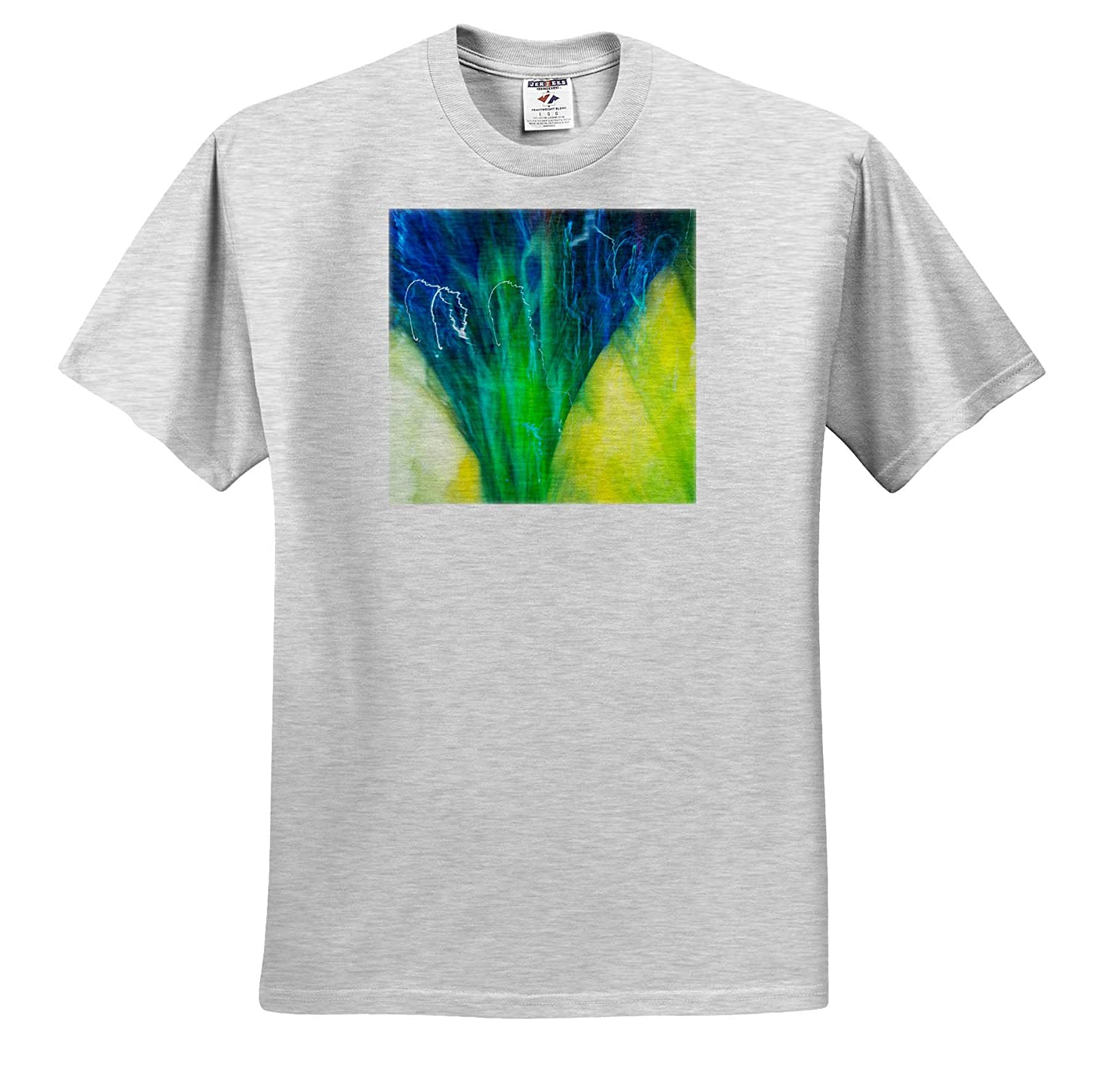 Adult T-Shirt XL Abstracts Colorful Glass with Motion Blur Effect ts/_315185 3dRose Danita Delimont