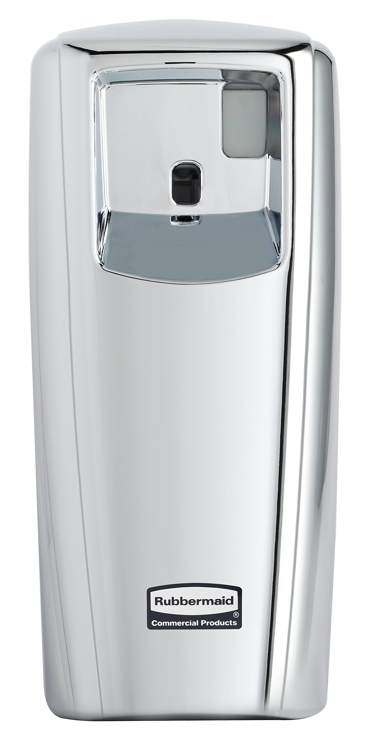 Rubbermaid Commercial Products 1793536 Microburst Automated Odor-Controlling Aerosol Air Care System, MB9000 Dispenser, 9000 m, Chrome by Rubbermaid Commercial Products
