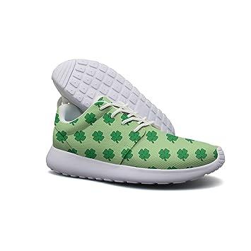 Four Leaf Clover Men Lightweight Walking Shoes Casual Sports Running Shoe Fashion