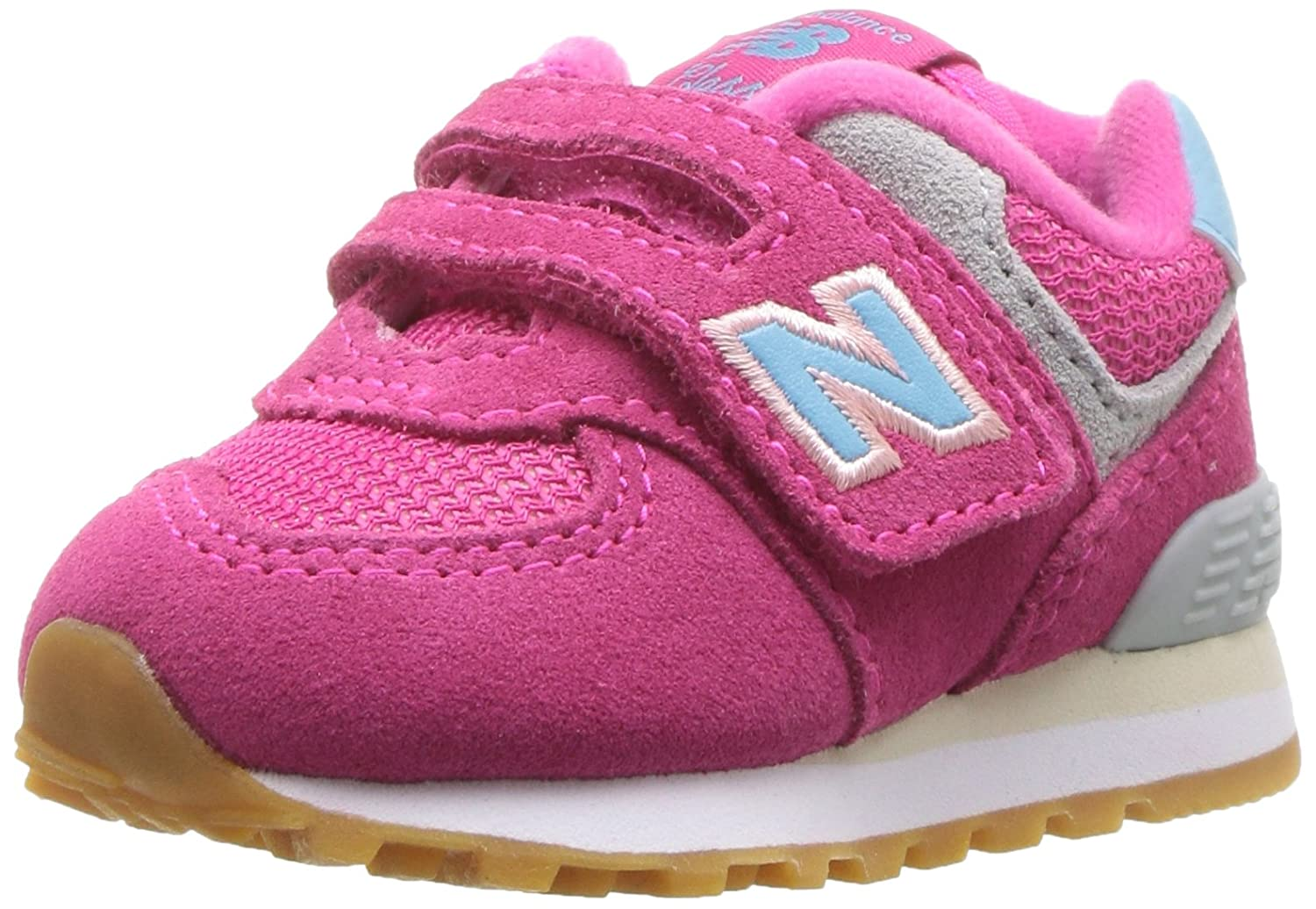 New Balance Kids Boys 574v1 Hook and Loop Sneaker