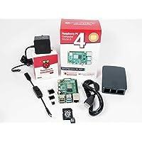 Melopero Raspberry Pi 4 Bilgisayar Resmi Premium Kit (8 GB RAM, Siyah)