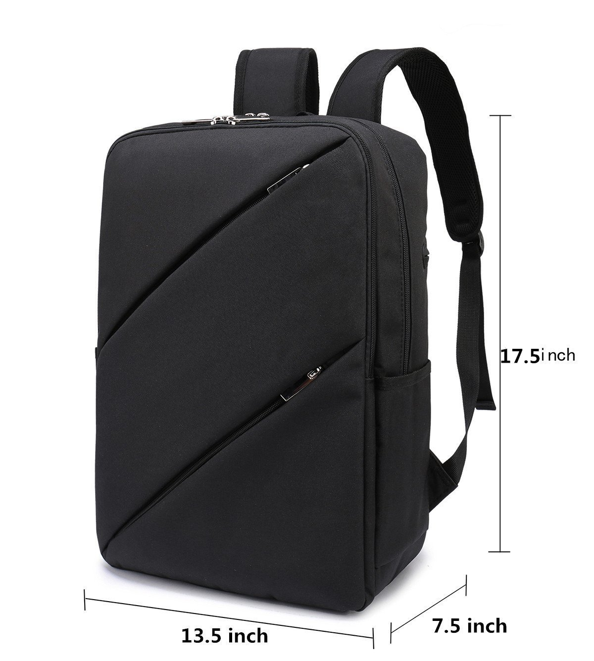 Amazon.com: Weekend Shopper Lightweight Business Backpack College ...