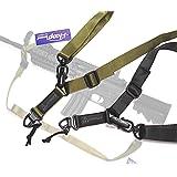(i-loop) マグプル MAGPUL タイプ レプリカ PTS MS2 スリング (DYNAMICSロゴモデル) (ブラック)