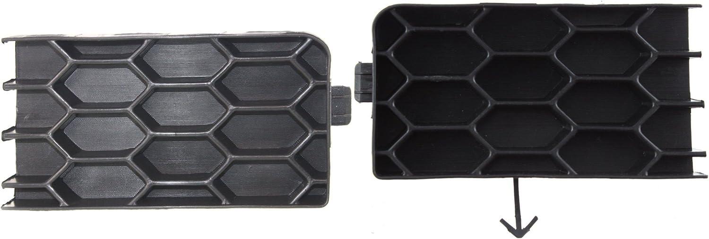 I-Match Auto Parts Passenger Side Front Bumper Grille Filler Replacement for 2004-2006 Scion XB SC1027100 5213352051 Matte Black
