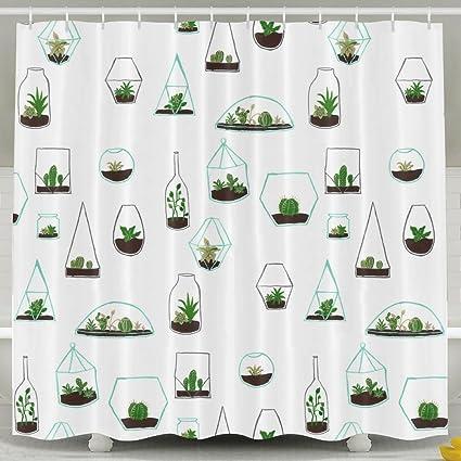 Terrific Amazon Com Drawn Plant Painting Tumblr Bathroom Shower Download Free Architecture Designs Jebrpmadebymaigaardcom