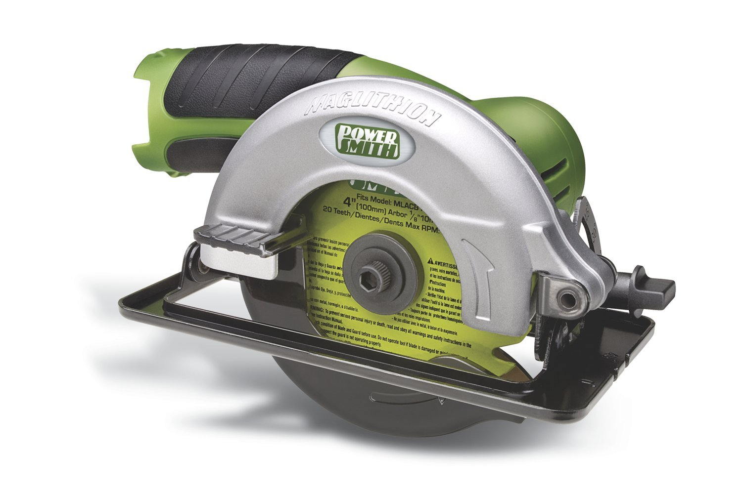 PowerSmith MLCS12C Mag 4-Inch 12-Volt Lithium Ion Compact Circular Saw