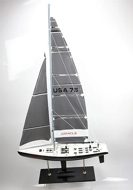 ORACLE Barco Velero 115x62 cms Maqueta Modelismo Madera ...